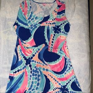 GUC Lilly Pulitzer Asymmetrical Dress 👗